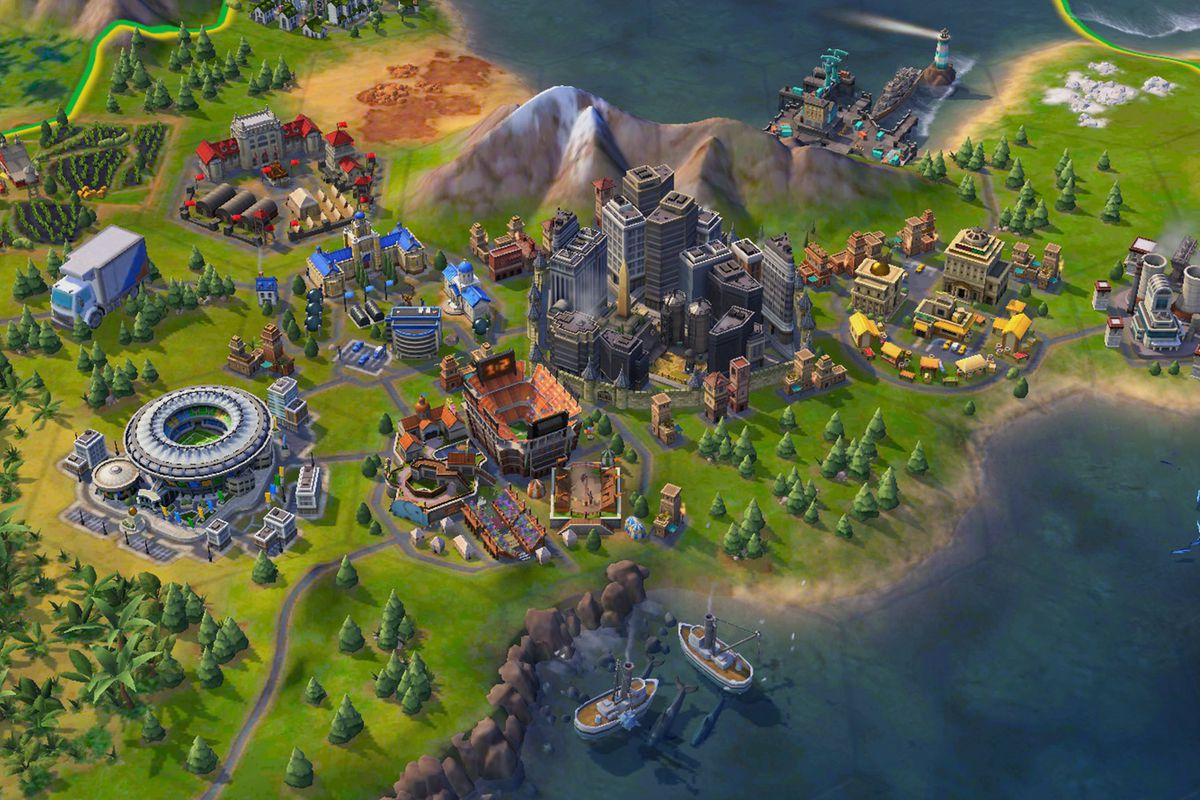 Strategy games like Civilization 6 require a lot of CPU prowess.