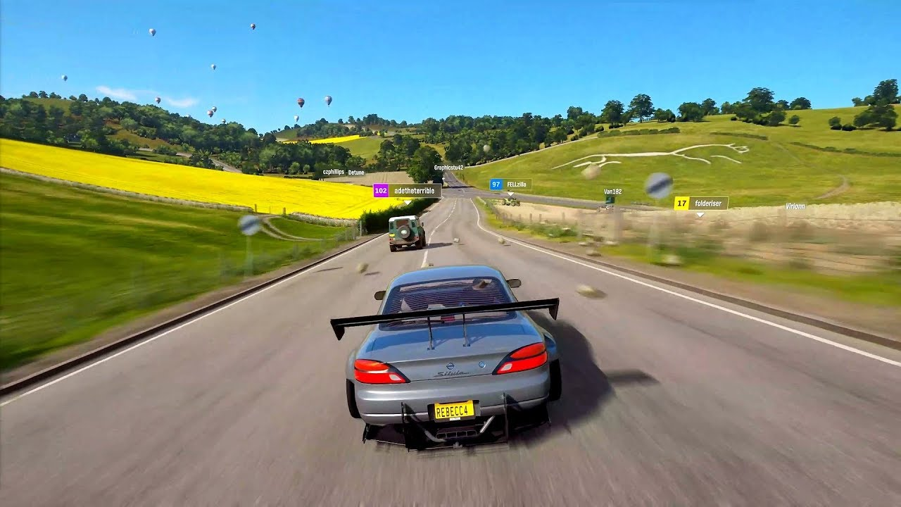Thanks to its amazing aesthetics, Forza Horizon 4 is a GPU-demanding game.