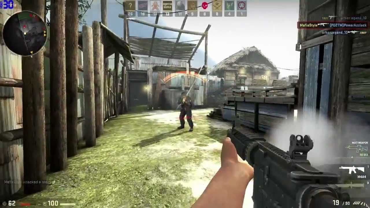 Counter-Strike Global Offensive gameplay