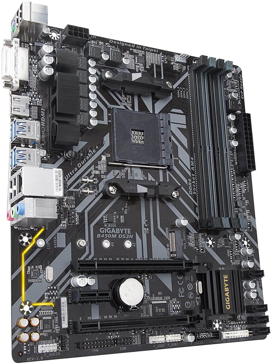 Gigabyte B450M DS3H Micro ATX motherboard