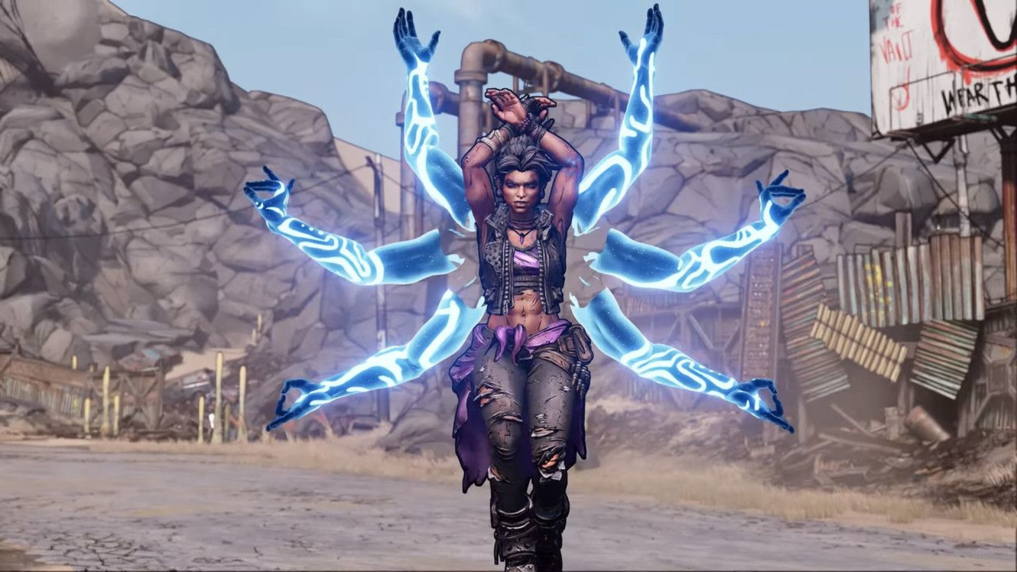 Amara from Borderlands 3
