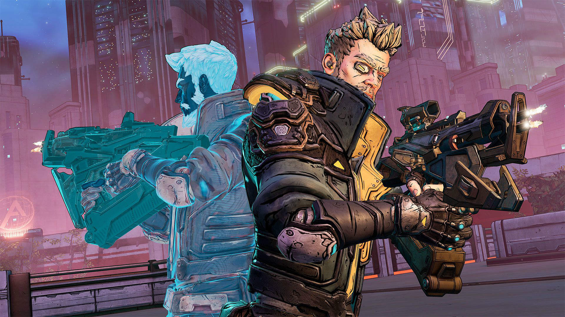 Zane in Borderlands 3.