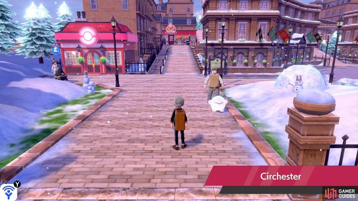 Circhester in Pokemon Sword