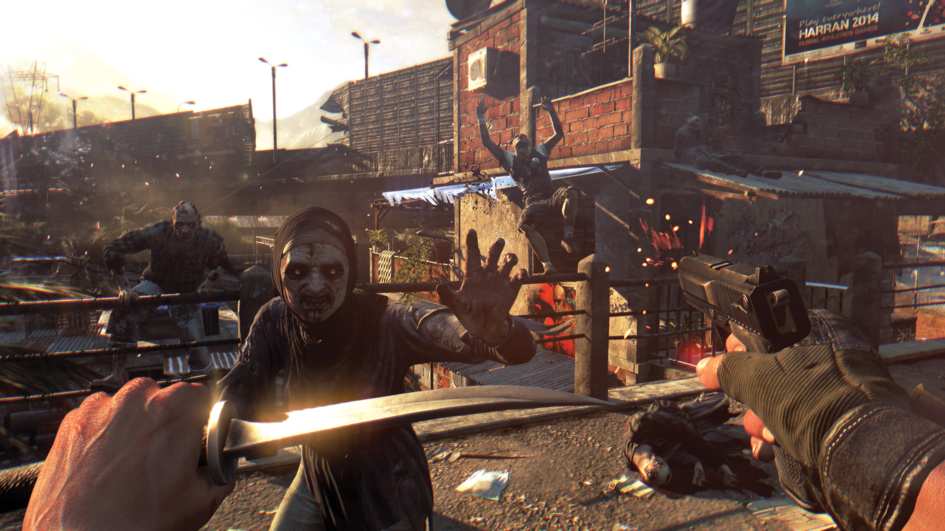 Dying Light Xbox gameplay