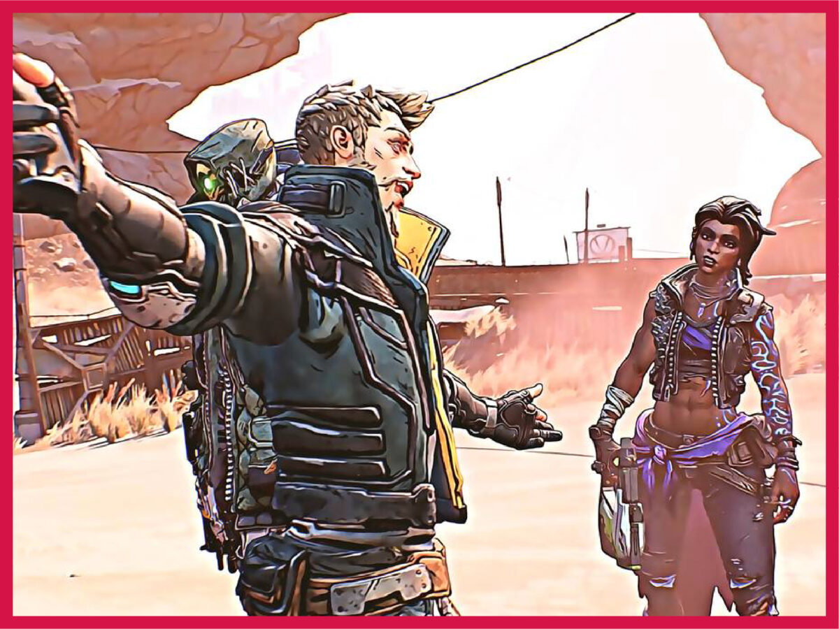 Zane and Amara art (Borderlands 3)