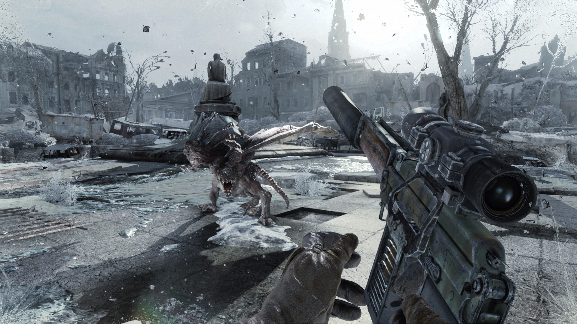 Metro Redux Xbox gameplay