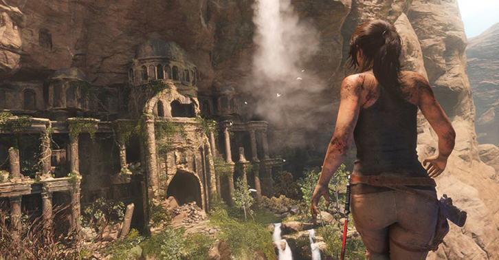 Tomb Raider Xbox gameplay