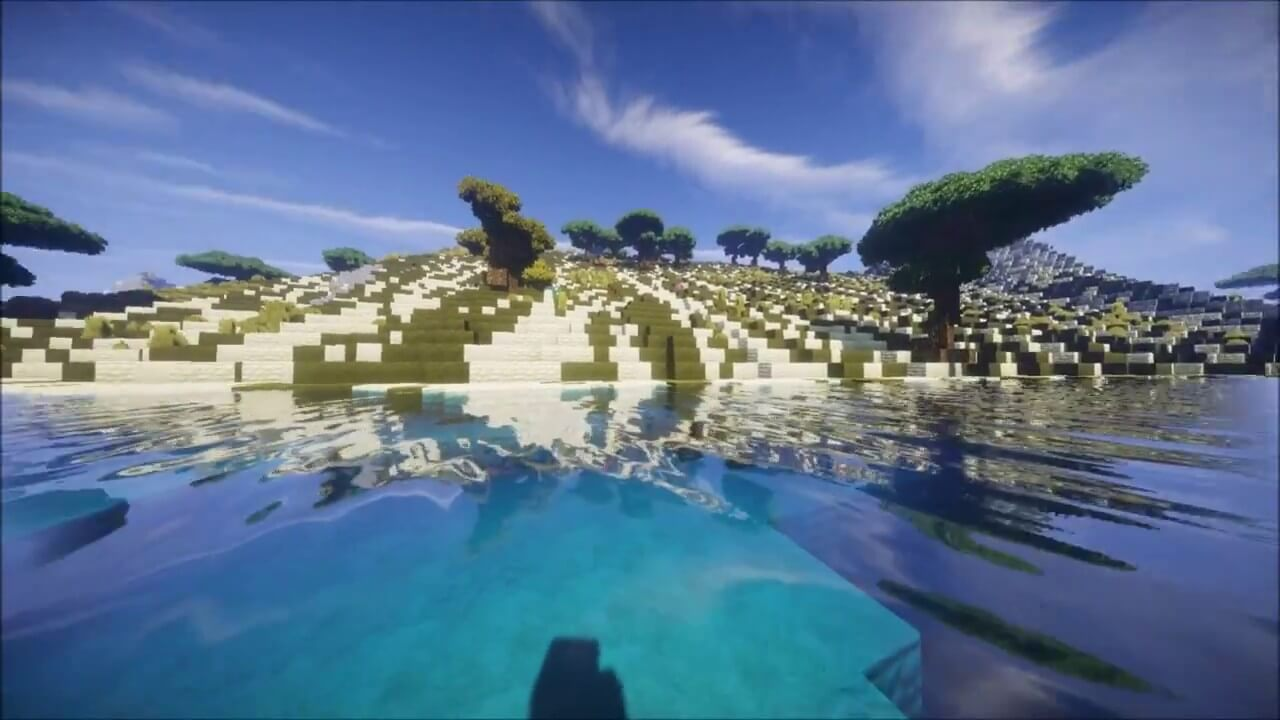 EBIN shader for Minecraft review