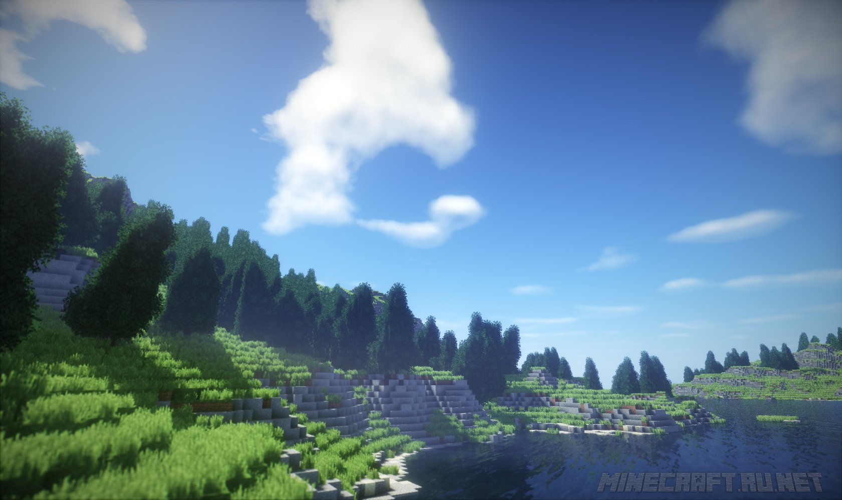 TME shaders for Minecraft review