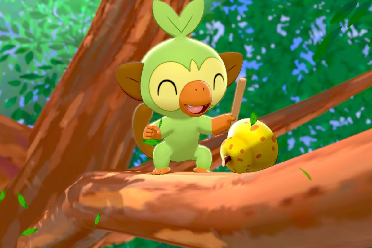 Pokemon Sword and Shield Grookey