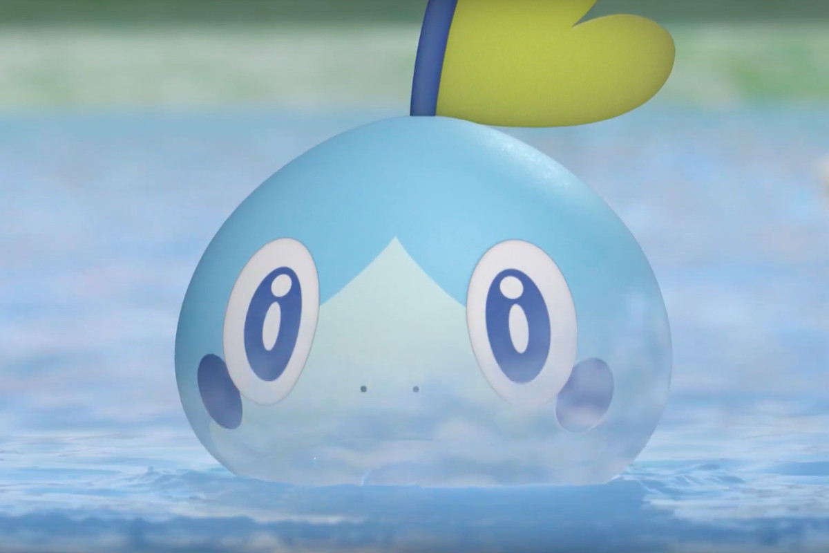 Pokemon Sword and Shield Sobble