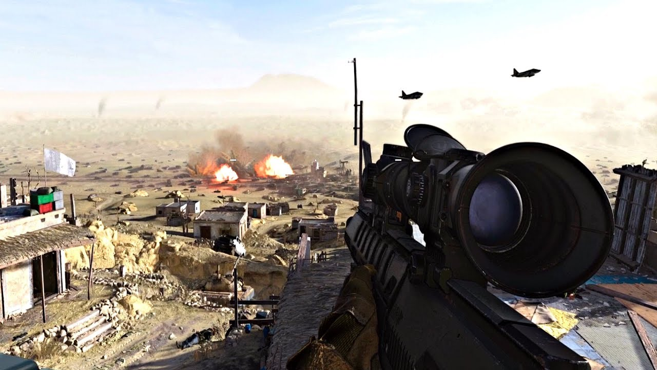 Call of Duty Modern Warfare co-op tips: Snipers
