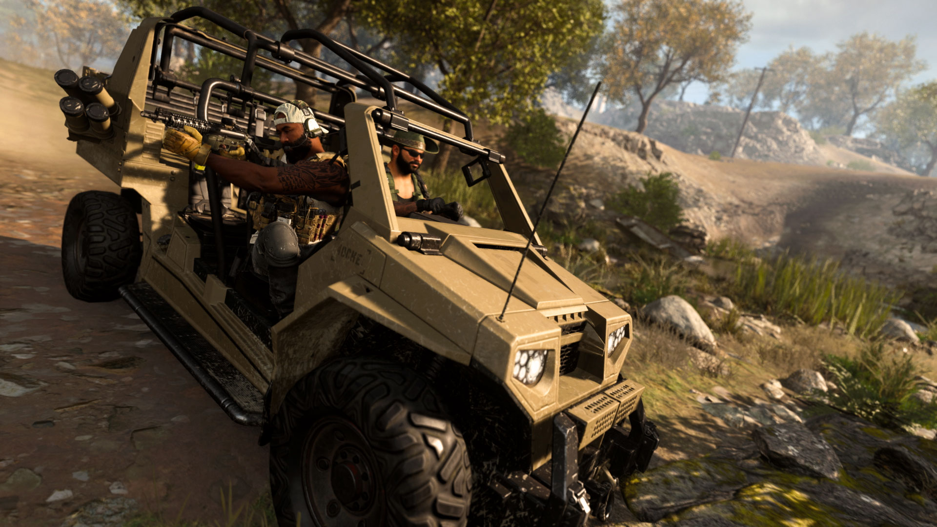 Call of Duty Modern Warfare co-op tips: Vehicles